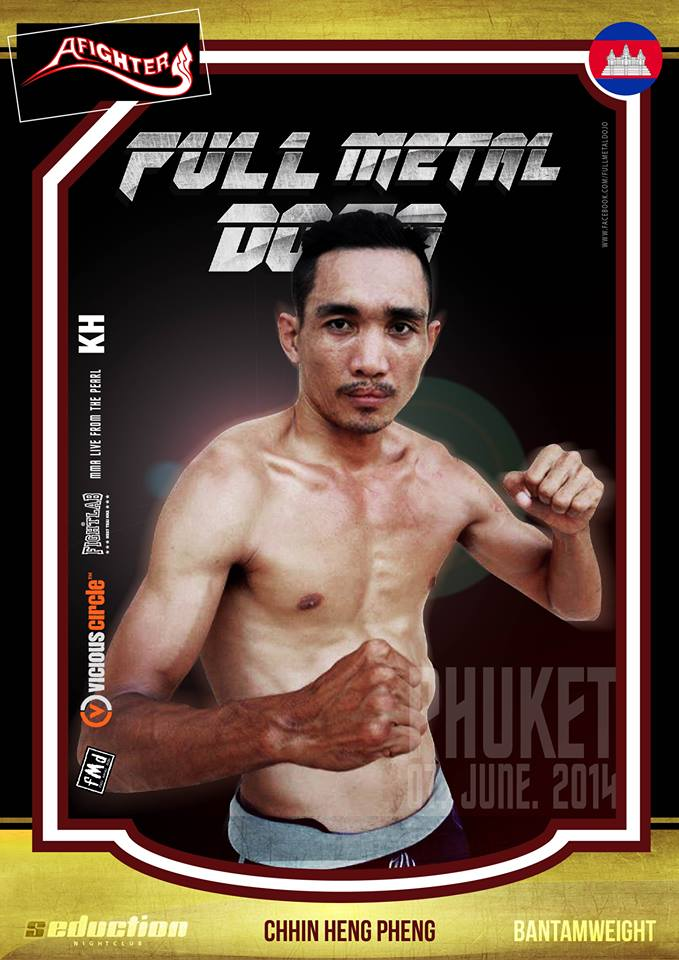 Chan Heng FMD MMA Fighter