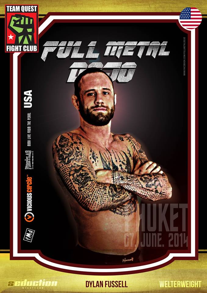 Dylan Fussell FMD MMA Fighter