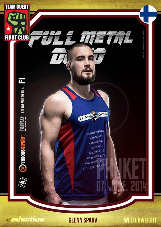 Glenn Sparv FMD MMA Fighter
