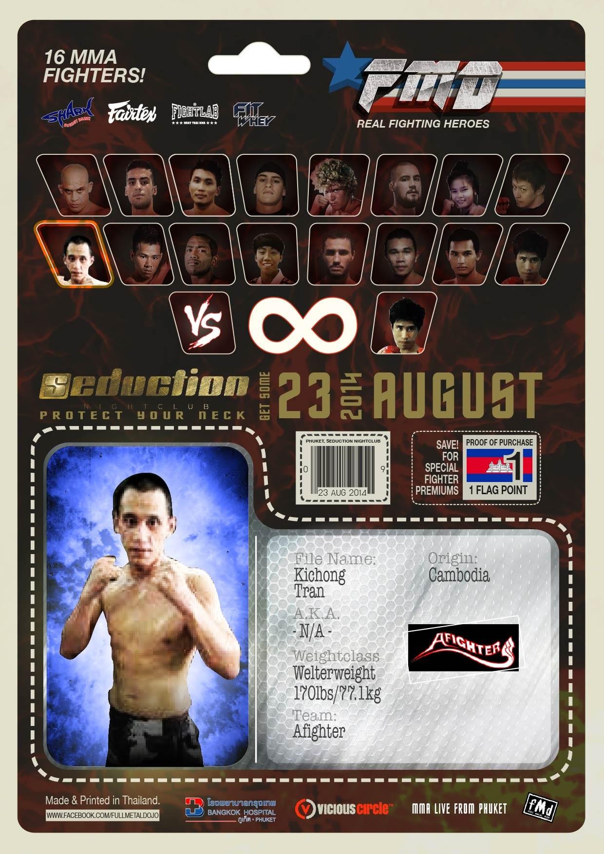 Kichong Tran FMD2 MMA Fighter