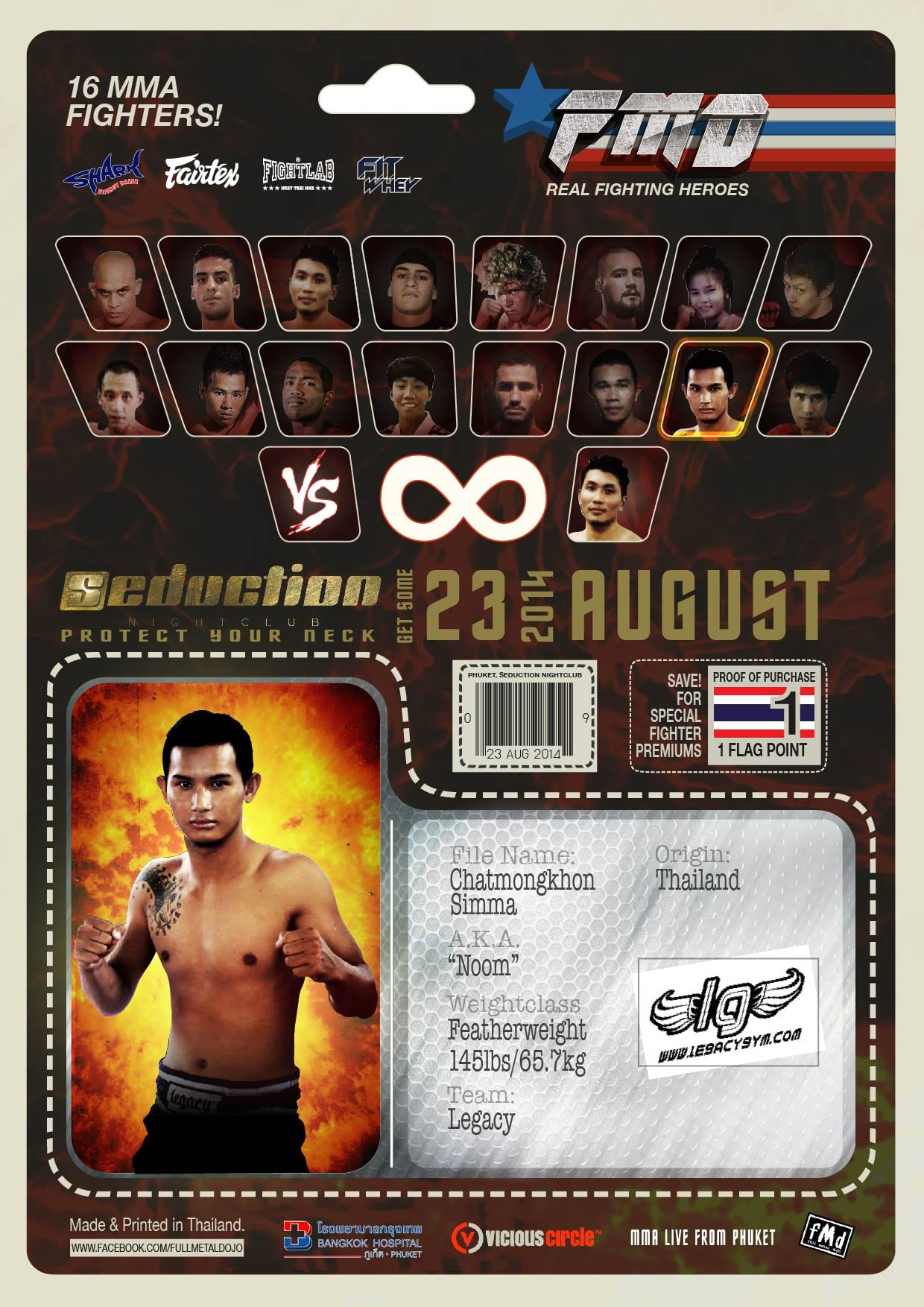 Charmongkhon 'Noom' Simma FMD2 MMA Fighter