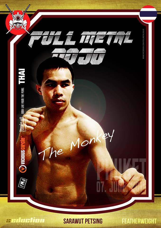 Sarawut The Monkey Petsing FMD MMA Fighter